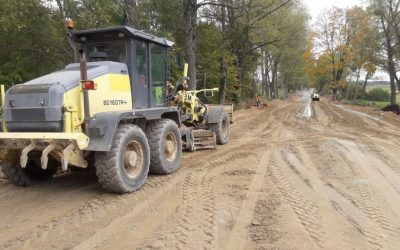 Rozbudowa drogi – tydzień 39