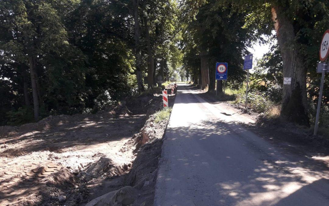 Rozbudowa drogi – tydzień 32/2020