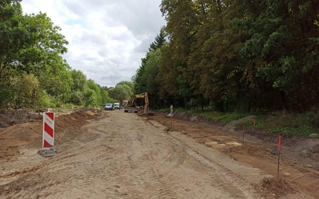 Rozbudowa drogi – tydzień 38