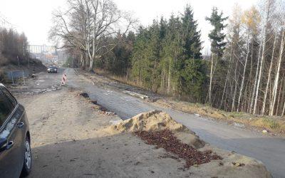 Rozbudowa drogi – tydzień 44