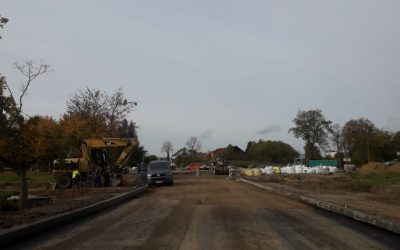 Rozbudowa drogi – tydzień 43