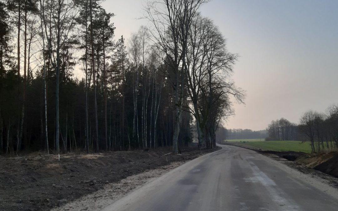 Rozbudowa drogi – tydzień 50