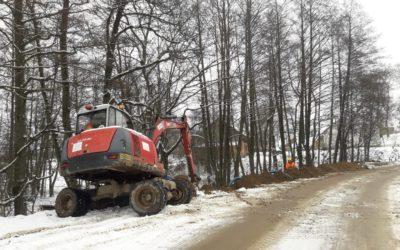 Rozbudowa drogi – tydzień 2/2021