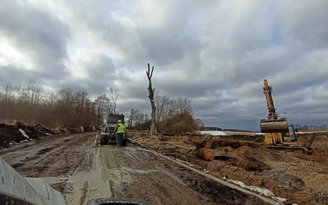 Rozbudowa drogi – tydzień 8/2021