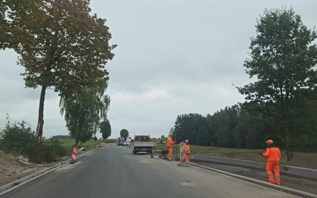 Rozbudowa drogi – tydzień 38/2021