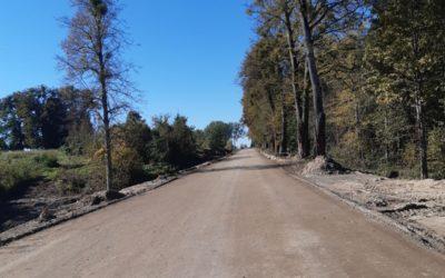 Rozbudowa drogi – tydzień 40/2021