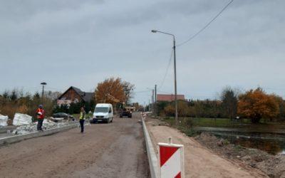 Rozbudowa drogi – tydzień 42/2021